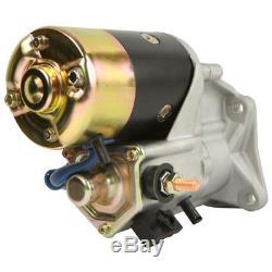New Starter for Caterpillar 216 226 236 246 247 Skid Steer & 906 Wheel Loader