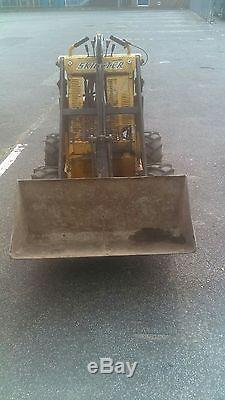 Opico M10X skidster Mini skid steer loader