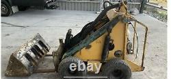 Opico Skidster M10X Skid Steer Loader Digger Honda Engine Bucket Forks