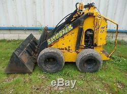 Opico skidster M12 diesel engine skid steer loader digger excavator delivery ok