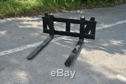 Pallet Fork Frame And Forks For Skid Steer Loaders Free Carriage