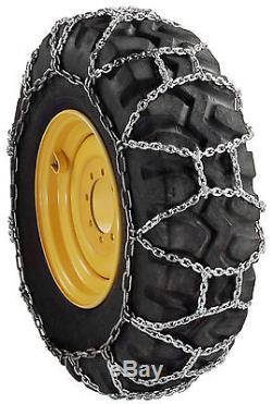 RUD (12x16.5) Skid Steer Loader Snow Tire Chains H Pattern 12-16.5