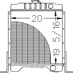 Radiator for Case Skid Steer Loader 1840 1845C 1A12192
