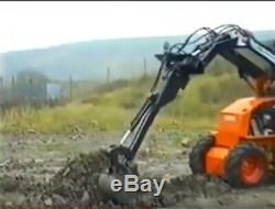 STARTER KIT SWING ARM BACKHOE ATTACHMENT Excavator Skid Steer Loader