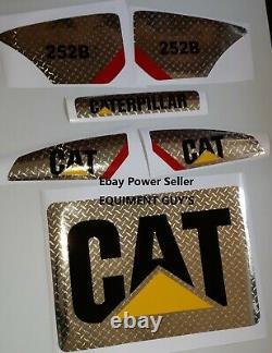 STICKER SET SKID STEER CATERPILLAR CAT DECAL KIT LOADER 226B3 or 257b3