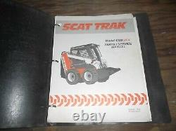Scat Trak 1300C 1300CX Skid Steer Loader Parts Catalog Service Repair Manual