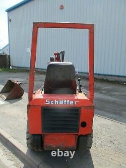 Schaffer 214 front loader forklift avant skid steer multi one opico delivery