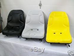 Seat For Skid Steer Loader, Bobcat, John Deere, New Holland, Case, Gehl, Cat #fh