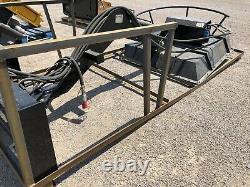Skid Steer Articulating Radial Arm Bank Ditch MOWER KING TOPCAT BDRC WE SHIP