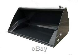 Skid Steer Loader Bobcat Heavy Duty 1.6m Toe Tip Loading Bucket