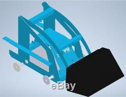 Skid Steer Loader Kit Build Your Own Compact Mini Loader With Our Starter Kit