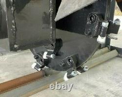 Skid Steer Universal Quick Tach Stump Grinder Fecen, Top Cat WE SHIP US & INTL