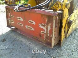 Skid steer bobcat or Case shear grab