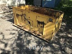 Skid steer bobcat tarmac hydraulic paver attachment
