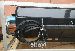 Skid steer kubota bobcat, case, JCB Hydraulic Soil Tiller, Rotovator, Cultivator