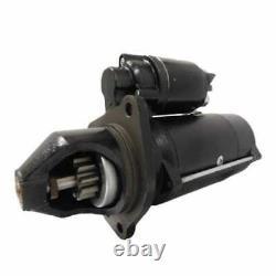 Starter Iskra PLGR (18483) Compatible with John Deere 4020 7700 Bobcat White