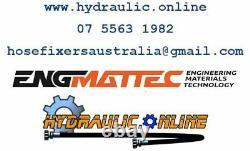 Stauff Digital Pressure Test Kit 0-600 Bar (8820 Psi) 2m Test Hose Plastic Case