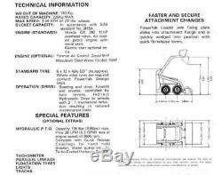 Steel Kit Skid steer Loader steel frame, parts list DIY build a loader project