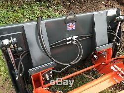 Suton 4 In 1 Tractor Bucket Loader Quick Release Skid Steer Compact Tractor