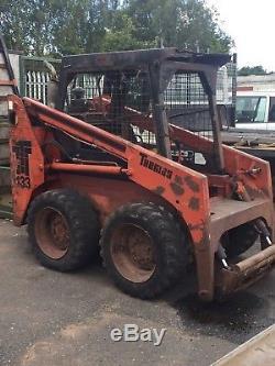 Thomas T133 skid steer loader not bobcat