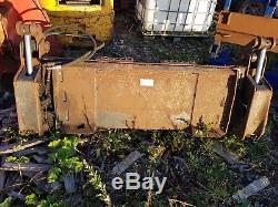 Tractor Skid Steer Bob Cat Loader Bucket Grab 4 in 1, 5' wide
