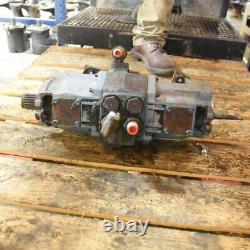 Used Hydraulic Pump Tandem Compatible with Bobcat 643 642 641 6648981
