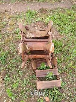 Used Loegering Steel Tracks 10-16.5