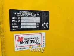 Used Thomas Equipment 105 Skid Steer Loader Year 2009 2207hrs