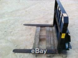 Whites Fork Lift attachment, for Bobcat or other skid steer loader