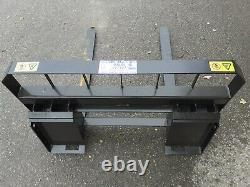Whites Pallet Forks To Suit Skid Steer Loader Plant Machinery Attachments