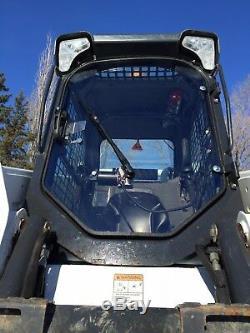 1/2 Porte De Sécurité Lexan Bobcat S750! Ne Brisera Pas! Chargeuse Compacte