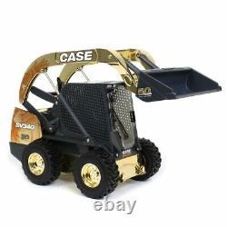 116 Case Sv340 Skid Steer Loader Gold Chase Par Ertl, 50 Years Case Skid Steer