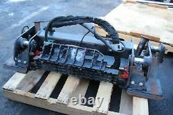 18 Caterpillar 246d Cat Skid Steer Chargeur Quick Attach Release Coupler Powered