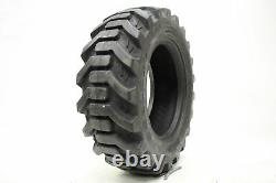 (2) Deux 27x8.50-15 27/850-15 Lrd Skid Loader Lug Pneu New Tire 8ply Heavy Duty