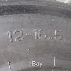 (2) Nouveaux Pneus 12ply 12x16.5 Compatibles Avec Un Pneu De Chargeur De Tracteur Bob-cat