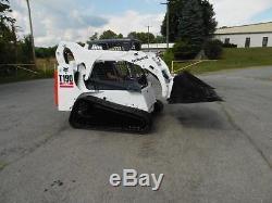 2005 Bobcat T190 Rubber Track Skid Steer Loader