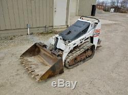 2005 Chargeuse Compacte Sur Chenilles Bobcat Mt55 Kubota Diesel