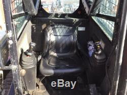 2011 Terex Pt50 Compact Chargeuse Sur Chenilles Mini Chargeuse Avec Cabine Seulement 2500 Heures