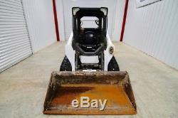 2013 Bobcat T590 Chargeuse Sur Chenilles, Charge De Basculement De 6000 Lb, Seulement 1404 Heures