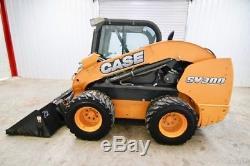 2013 Case Sv300 Skid Steer Chargeuse Sur Pneus 90 Hp, Ac / Heat, High Flow, 2 Vitesses