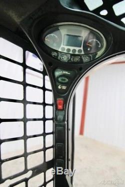 2014 Bobcat T550 Cab Chargeuse Sur Chenilles À Crémaillère, High Flow, Rops Ouverts, 66 HP