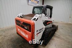 2014 Bobcat T550 Chargeur À Chenilles Skid Steer, High Flow, Open Rops, 66 HP