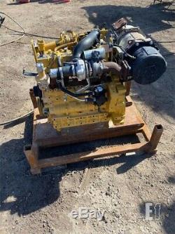 2014 Caterpillar C3.3b Moteur Diesel Kubota V3007 308e