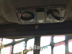 2014 Terex Pt110f Forestier Compactes Mini Chargeuse Avec Cabine 2spd Haut Débit