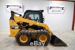 2015 Cat 242d Chargeur Sur Pneus, Ac / Heat, 73 Hp, Pistes, 453 Heures