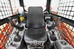 2015 Kubota Svl90-2hfc Skid Steer Track Loader, Cab, Ac / Heat / Radio, High Flow