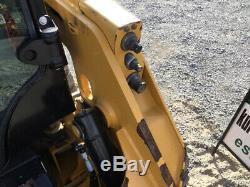 2016 Caterpillar 226d Mini Chargeuse Avec Cabine Et 2 Vitesses