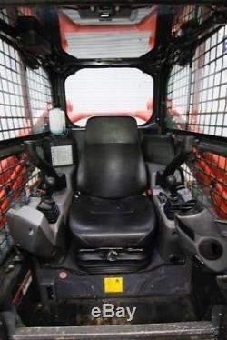 2016 Kubota Svl 95-2s Chf Cab Chargeur À Chaînes Skid Steer, Ac / Heat