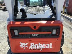 2018 Bobcat S850 Mini Chargeur Joystick, 2 Vitesses, Haut-débit Uniquement 200 Heures