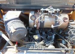 2018 Case Sr160 Mini Chargeuse Sur Pneus Godet Chargeur Diesel 690 Heures
